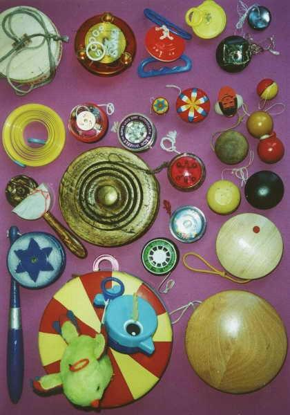 jouets - Les Yo yo ... et divers